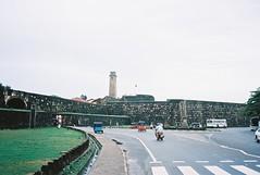 taking the portuguese to galle (dancearoundaworldburningdown) Tags: 35mm olympusmjuii film