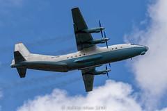 Cavok Air Antonov AN-12, UR-CBG (@toonaew) Tags: cavok antonov an12 newcastleairport transport aircraft aeroplane ukraine