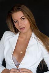 Kornelia (piotr_szymanek) Tags: kornelia korneliaw woman young skinny face portrait studio eyesoncamera longhair 1k 20f 5k 10k 50f