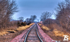 Looking West on the CN Rail Line west of Ackley, IA (KansasScanner) Tags: iowafalls ackley austinville iowa cn bnsf up train railroad