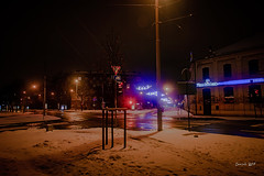 IMG_6917 (denjah) Tags: 2018 latvia riga городскоеосвещение зима зимнийвид ноч ночноефото снег улица фонарь iela night nightshot snow winter город дома road denjahphoto