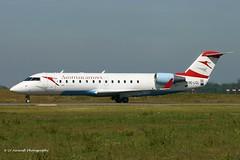 OE-LCL_CRJ2_Austrian Arrows_Tirol sticker (LV Aircraft Photography) Tags: airliner austrianarrows crj2