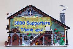 Winter Chalet reaches 5000 votes!