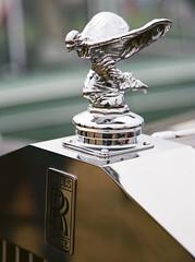 Rolls (V8 Badger) Tags: rolls royce film 35mm kodak ektar 100 canon eos 3 slr 24105 l is analog vintage classic car