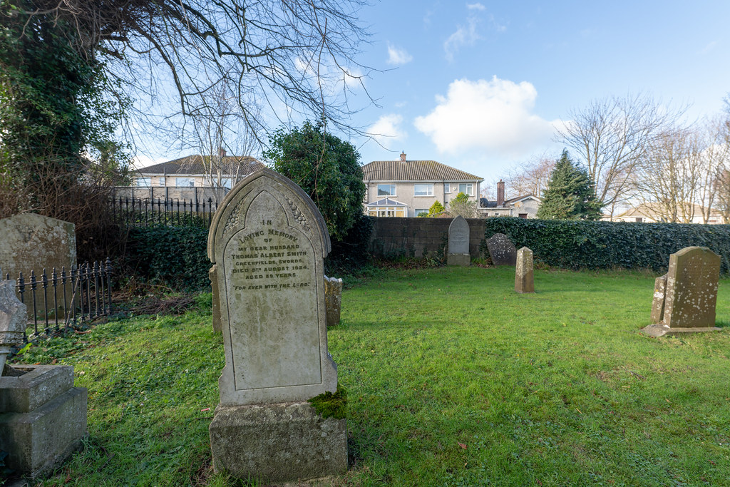 ST COLUMBA'S CHURCH AND GROUNDS IN SWORDS COUNTY DUBLIN [CHURCH ROAD]-148787