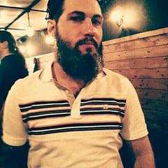 Centre-Sud 2014 (Coastal Elite) Tags: selfie self beard bearded me man polo shirt bar station centresud montréal montreal