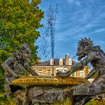 Brockville Ontario -  Canada  - Fulton Place - Heritage Trust - Water Fountain thumbnail
