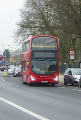 HYT WVL212 - S1HYT - ELTHAM ROAD - SAT 16TH FEB 2019 (Bexleybus) Tags: eltham road south east london rail replacement bus service eastern trains bexleyheath line land slide 2019 wrightbus gemini volvo hire your transport wvl212 s1hyt
