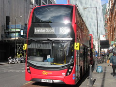 Go Ahead London EH117 (Teek the bus enthusiast) Tags: victoria putney bridge route 36 507 london buses go ahead abellio metroline tower transit national express