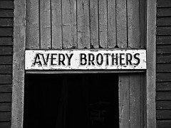 Avery Bros, Newfoundland (larryvanhowe) Tags: on1raw southport newfoundland bw canada northamerica on1