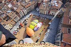 VIC. OSONA. Mercat del Ram 2018. (Josep Ollé) Tags: balloon globo vuelo volar flight flying