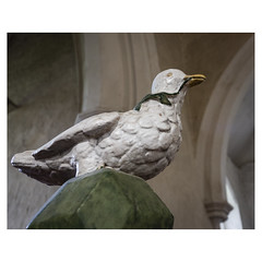 Font cover (badger_beard) Tags: st augustine canterbury burrough green cambridgeshire south cambs east newmarket parish church england dove font cover