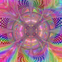 Painted Execution (bloorose-thanks 4 all the faves!!) Tags: bryce abstract art digital colors psychadellic psychoactive symmetry reflections
