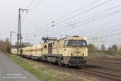WLE 21 (JFH-Photo) Tags: g2000 wle21 westfälische westfalen diesel warsteiner bier zug train trein bahn track rail wunstorf duitsland deutschland container güter goederen