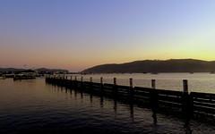 After sunset (__ PeterCH51 __) Tags: coast ocean sea knysna lagoon knysnalagoon westerncape southafrica za dusk evening sunset landscape scenery seascape peterch51 gardenroute eveninglight