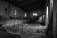 Casa Abandonada 9 (Mosseguello) Tags: elche afelx lugaresabandonados cottage corral bw bn sonya850 poultryyard