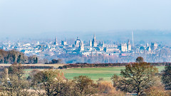 Oxford from Boars Hill. (Anthony P Morris) Tags: oxford oxfordcity oxforduk dreaming spires dreamingspires university oxforduniversity bbc itv bbcsouth itvmeridian weather weatherwatchers anthonymorris anthonypmorris tonymorris farmoor oxfordshire