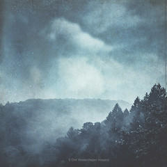 blue hills (Dyrk.Wyst) Tags: bergischesland deutschland germany herbst september wuppertal atmosphere fog forest landscape mood mountains nature outdoors trees wilderness mystical textures blue fineart clouds