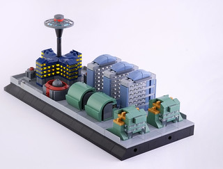 Lego micro city, the fifth district