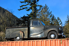 Austin A40 10 CWT Pick-Up (1947-1953) Explored (SonjaPetersonPh♡tography) Tags: truck oldtruck vehicle classictruck classic rust display deroche bc britishcolumbia canada nikon nikond5300 antiquetruck antique old pickup pickuptruck decay rural town community rustyrelic