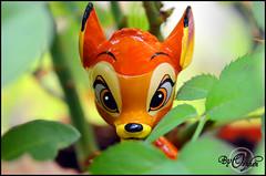 Bambi ~04 (Orphen 5) Tags: disney bambi disneybambi disneybambifigurine bambifigurine flower bambiphotoclip bambifigurineprimark bambiprimark primark london tumblr cute