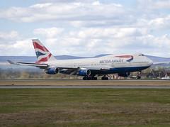 British Airways G-BNLK (Scottish Photography Productions | David Pollock) Tags: british airways boeing 747436 gbnlk glasgow abbotsinch international airport egpf gla aviation aircraft scotland