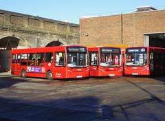 AB 8329 YX10EBM - 8341 YX11AHP - 8521 YX59BYO - WALWORTH GARAGE - THUR 17TH JAN 2019 (Bexleybus) Tags: adl dennis enviro 200 abellio london walworth garage camberwell tfl route 8329 yx10ebm 8341 yx11ahp 8521 yx59byo 484 p13 nis not in service