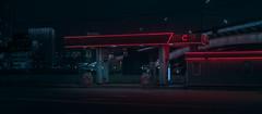 Gas station. (igor.relsov) Tags: reframedmag streetphotography cineminer cinematography midnightdreaming cinebible spicollective n8zine igonstandby classicsmagazine dreamermagazine nightwalkermagazine somewheremagazine onbooooooom myfeatureshoot 349amcollection rentalmag takemagazine verybusymag wtns imaginarymagnitude subjectivelyobjective broadmag nowherediary artclassified streetdreamsmag taintedmag ourmag indiependentmag atnightzine shots nightphotography lamp car cars streets mystic street night light cinematic cinema strange evening photography
