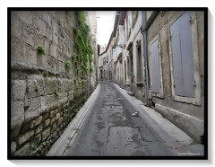 Rue (manolomun) Tags: architecture arles romain rhone provence france ole fresque