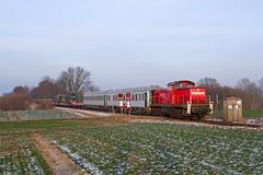 290 504 I Ratekau (Bahn Sascha) Tags: eisenbahn zug train db cargo v90 br290 militär bundeswehr vogelfluglinie