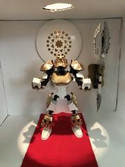 Takanuva Returns. part 6 (ArmoredToa) Tags: lego bionicle takanuva toaoflight light knight moc revamp repaint kanohi avokii gold white temple diorama