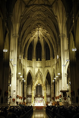 St. Patrick's Cathedral '09 (R24KBerg Photos) Tags: nyc newyork newyorkcity empirestate church catholic stpatrickscathedral manhattan famous christmas religion christianity 2009 canon historic architecture