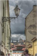176- UN RINCÓN DE VILNIUS - LITUANIA - (--MARCO POLO--) Tags: calles barrios ciudades curiosidades hdr arquitectura