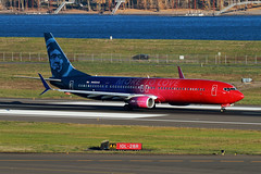 More To Love Again (planephotoman) Tags: boeing 737 739 737900 737990 737990wl n493as alaskaairlines moretolove speciallivery portlandinternationalairport pdx kpdx