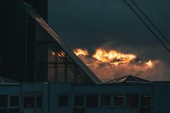 Port de contraste (jérémydavoine) Tags: lehavre seinemaritime normandie port harbor sky sunset clouds sea france