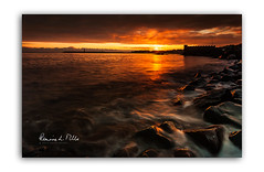 Shore Street Dawn (RonnieLMills 6 Million Views. Thank You All :)) Tags: shore street donaghadee lighthouse harbour sunrise dawn early morning warm colours reflections county down northern ireland shorestreetdawn ronnielmills landscape photography