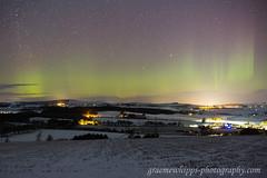 Garioch Rays (quayman) Tags: aurora northern lights merry dancers night sky aberdeenshire scotland