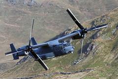 """USAF CV-22 Osprey""""knife 71"""" (Pikingpirate1) Tags: osprey usaf wales mach loop cad west"""