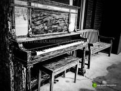 Piano (john bulmer) Tags: blackandwhite buskirk newyork bennington vermont travel contrast johnbulmerphotography