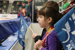 Angelica Marie Bautista 2019-2-20 Short Track Speed Skating 500m Audience 5 (AM_Bau) Tags: canadawintergames2019 cwg2019 shorttrackspeedskating speedskating shorttrack garywharris icerink stands cheering happy excited fans support child children alberta teamab watching 500m