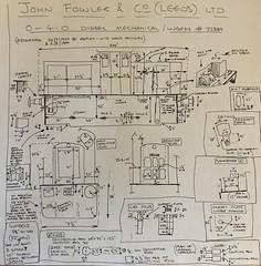 Notes Fowler 1 (Daveynorth) Tags: ropley fowler 040dm 22889 diesel mechanical drawing plan