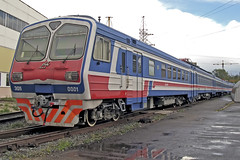 RZD ED6 EMU (tzhskz) Tags: russianrailways rzd emu electric 3kvdc ed6 0001 cloudy