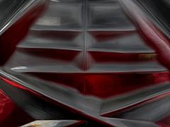 Bohemian Rhapsody (BeMo52) Tags: abrasivecutting böhmischeskristallglas bonbonnière chrystalglass cristallo cut grinded kristallglas macro macromondays makro ornament schliff whatisthat red