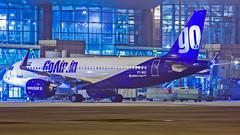GoAir Airbus A320NEO VT-WGC Bangalore (BLR/VOBL) (Aiel) Tags: goair airbus a320 a320neo vtwgc bangalore bengaluru canon60d tamron70300vc