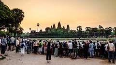 Behind the scene (Cédric Nitseg) Tags: nikon asie siemreap outdoor orange greelow travelling backpacking backpacker sun travel sunrise levédesoleil cambodge soleil voyage d7000 asia temple cambodia angkorwat