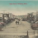 SW Mulliken Grand Ledge Sunfield MI c.1906 WONDERFUL Downtown View Horse and Buggy Days German Printed Mulliken a village in Eaton Countys Roxand Township