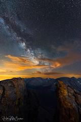 Milky Way at altitude (Hilary Bralove) Tags: nightsky rockymountains milkyway astrophotography nightphotography longexposure stars night