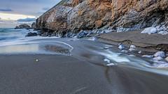 Rockaway Beach. Pacifica, CA. (j1985w) Tags: pacifica california beach ocean sunset river water longexposure rocks sky clouds