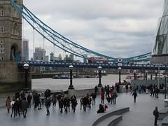 Tower Bridge (jane_sanders) Tags: london towerbridge bridge riverthames river thames queenswalk thescoop scoop cityhall morelondon londonbridgecity