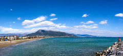 Anamur Sahil. Panorama (Akcan PhotoGraphy) Tags: anamur mersin turkey canoneos760d manzara landscape sea deniz akdeniz